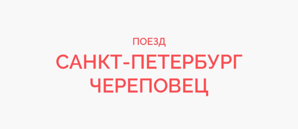 Поезд Санкт-Петербург - Череповец