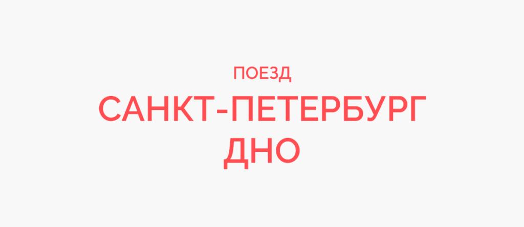 Поезд Санкт-Петербург - Дно