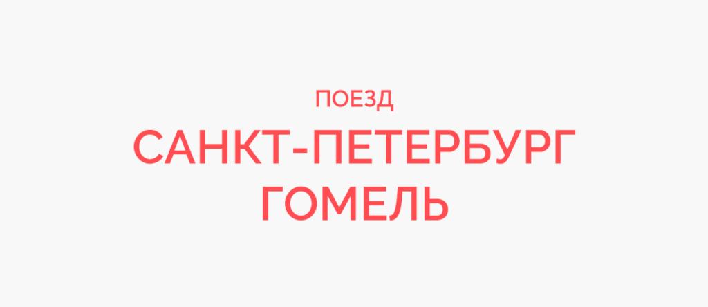 Поезд Санкт-Петербург - Гомель