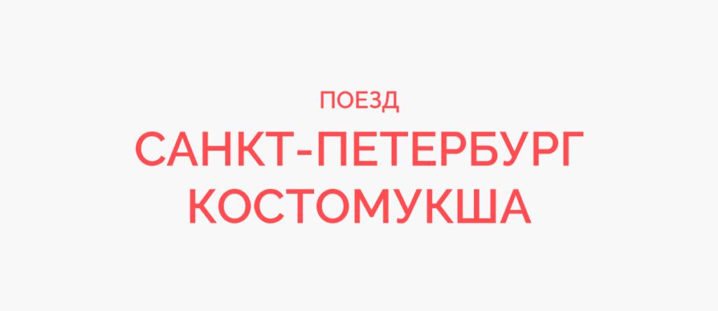 Поезд Санкт-Петербург - Костомукша