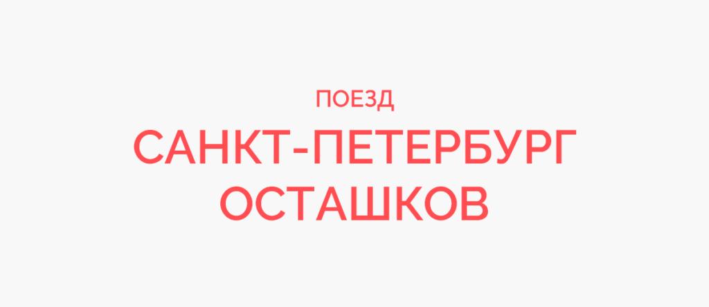 Поезд Санкт-Петербург - Осташков